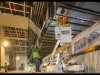 Progress photos of Crenshaw Line January, 2020